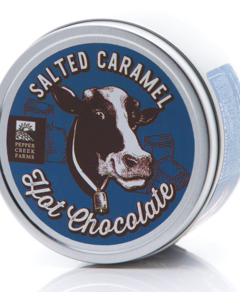 Salted Caramel Hot Chocolate Tin