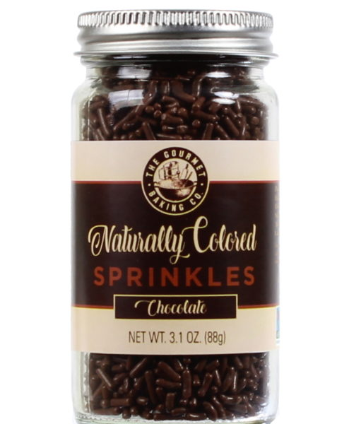 All Natural Chocolate Sprinkles Round