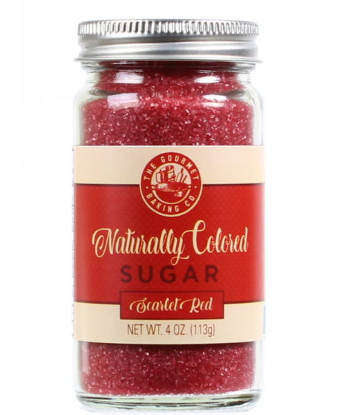 All Natural Red Sugar Round