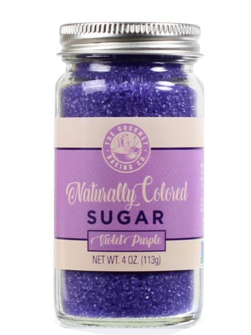 All Natural Purple Sugar Round