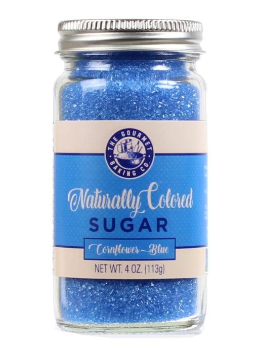 All Natural Blue Sugar Round