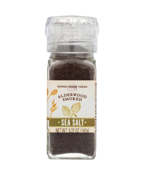 Alderwood Smoked Sea Salt Grinder