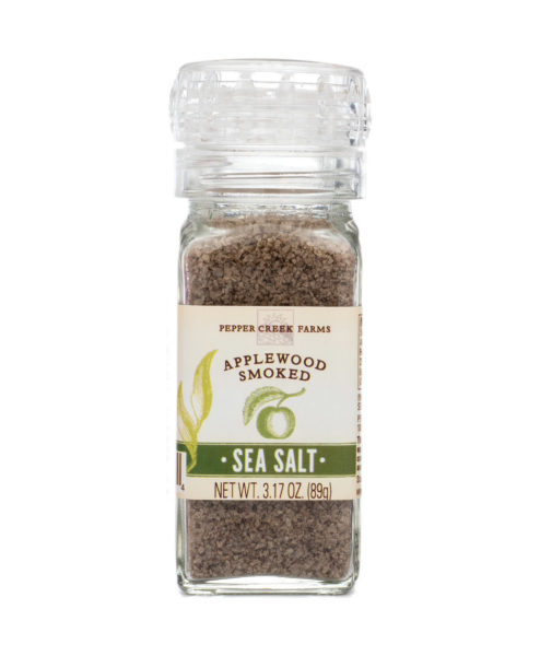 Applewood Smoked Sea Salt Grinder