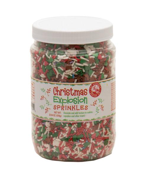 Christmas Sprinkle Explosion Large