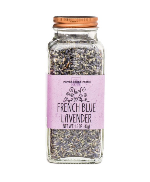 French Blue Lavender Copper Top