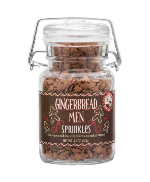 Gingerbread Men Sprinkles