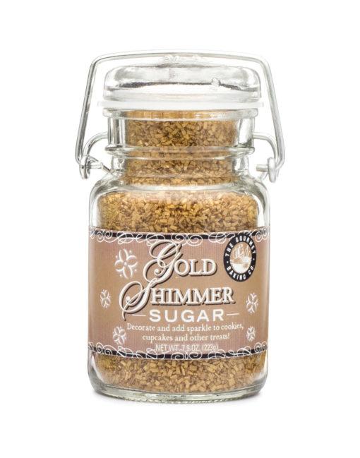 Gold Shimmer Sugar