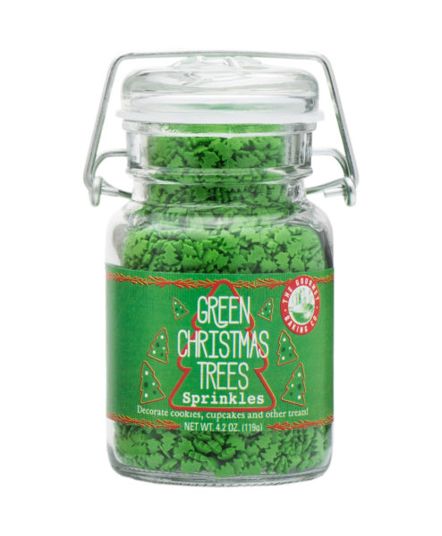 Green Christmas Tree Sprinkles