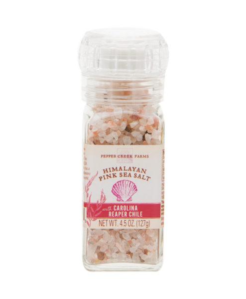 Himalayan Pink Sea Salt Carolina Reaper Chili Grinder