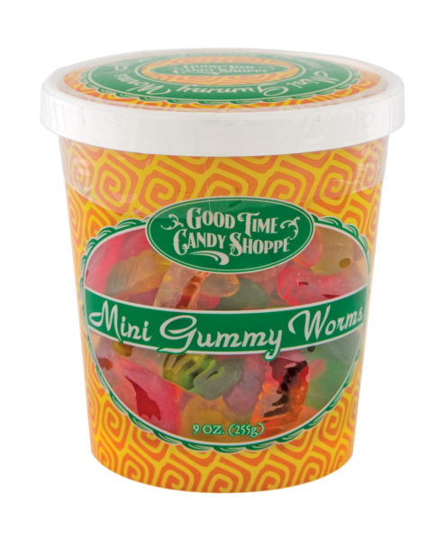 Mini Gummy Worms