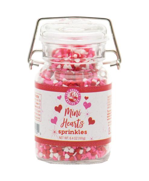 Mini Hearts Sprinkles