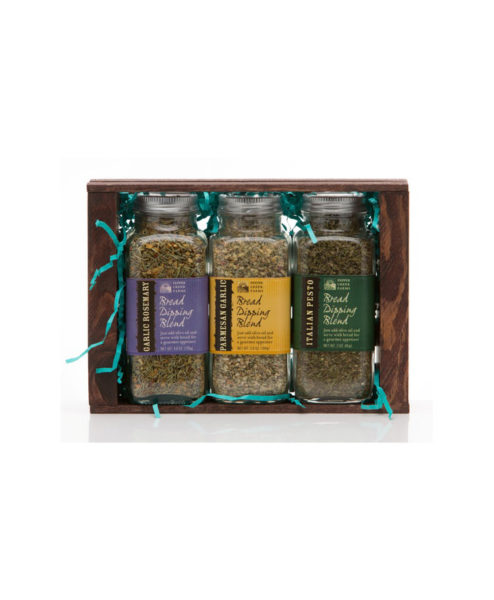 Parmesan Rosemary Pesto Bread Dipping Blends Crate