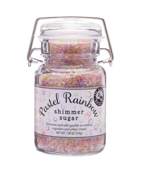 Pastel Rainbow Shimmer Sugar