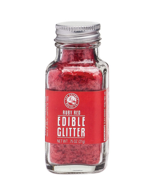 Red Ruby Edible Glitter