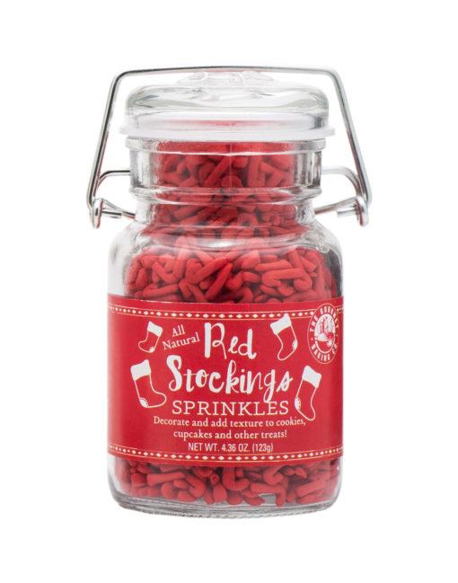 Red Stockings Sprinkles
