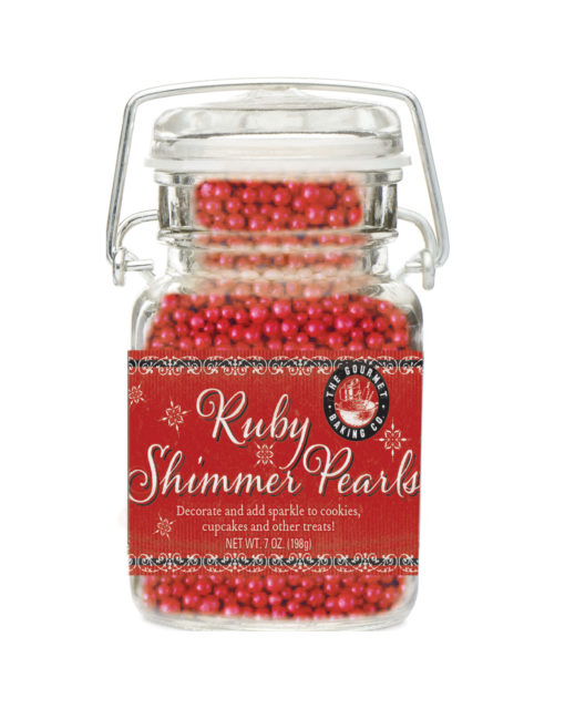 Ruby Shimmer Pearls