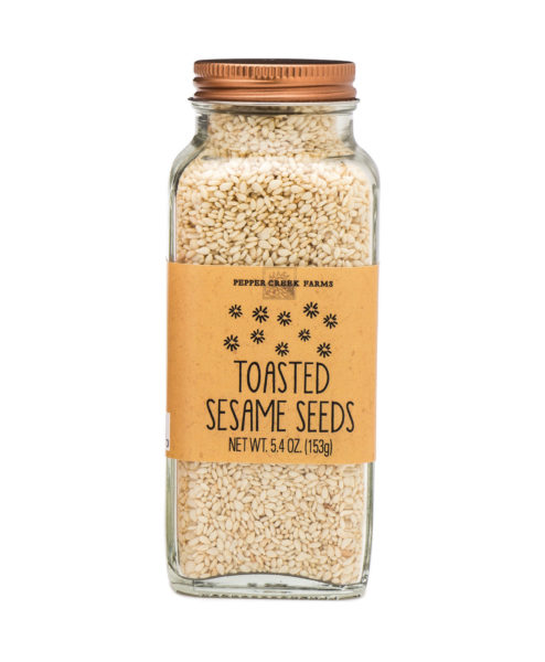 Toasted Sesame Seeds Copper Top Large