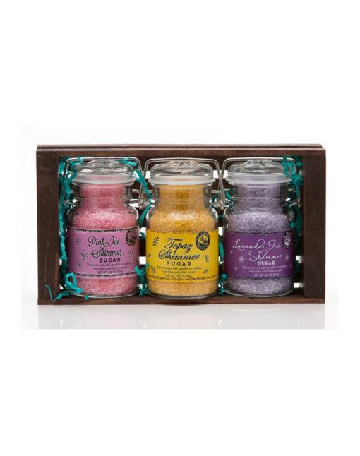 Vivid Shimmer Sugars Crate Set