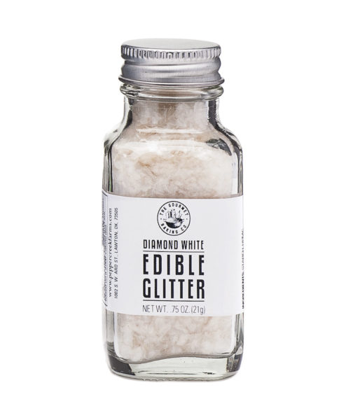 White Diamond Edible Glitter
