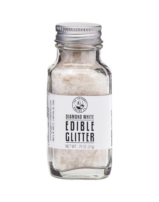 White Diamond Edible Glitter