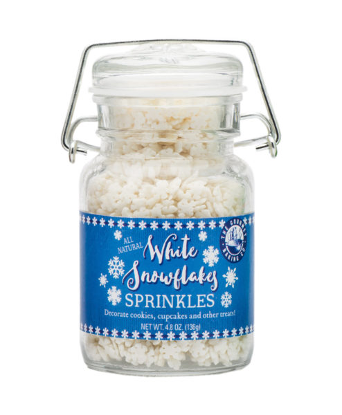 White Snowflake Spinkles