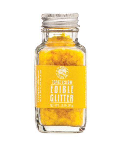 Yellow Topaz Edible Glitter