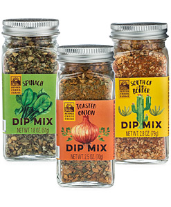 Dip Mixes Jar