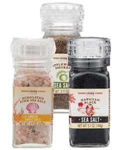 Grinder-top Sea Salts