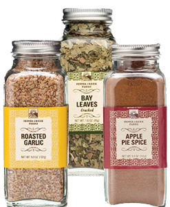 Silver Top Jar Spices
