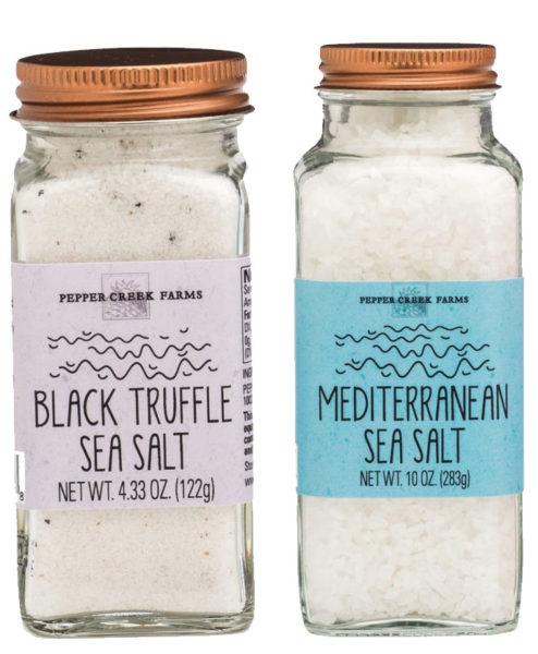 Copper-top Jar Sea Salts