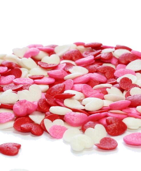 Mini Hearts Sprinkles Bulk