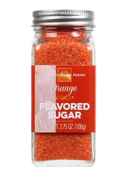 Orange Flavored Sugar