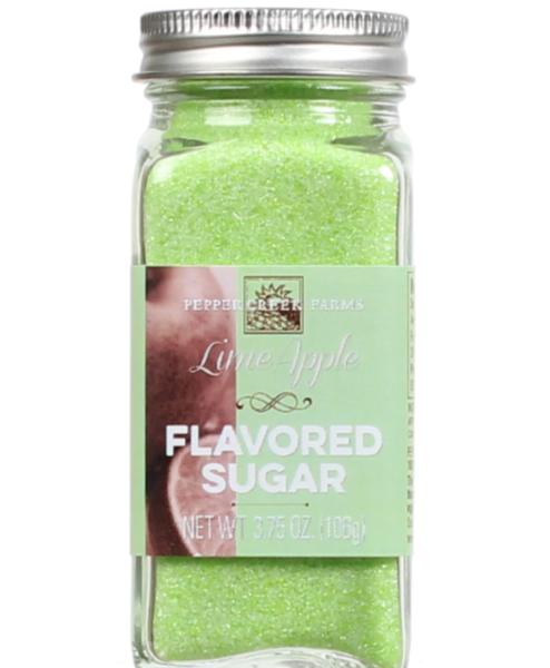 Lime Apple Flavored Sugar