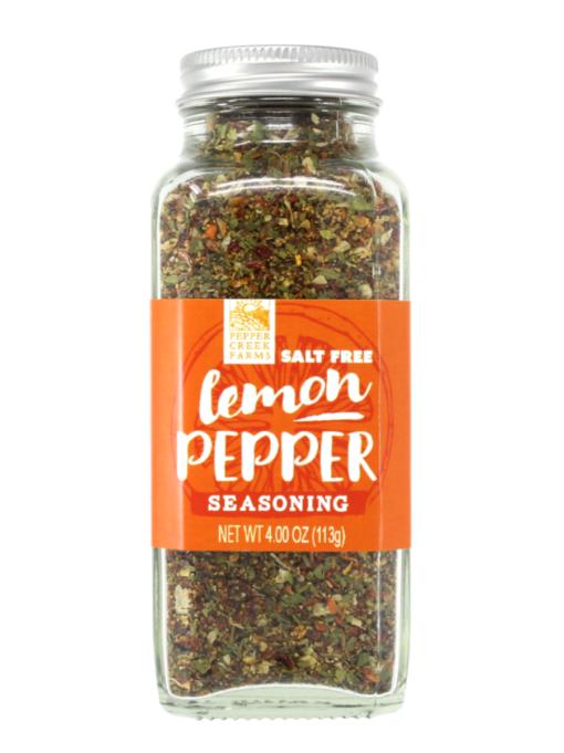 Salt Free Lemon Pepper Seasoning Oz